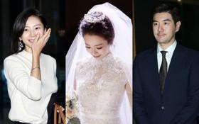 """Đám cưới cô út của """"Những nàng công chúa nổi tiếng"""": Dàn sao nô nức, bà xã Bae Yong Joon chiếm hết mọi sự chú ý"""