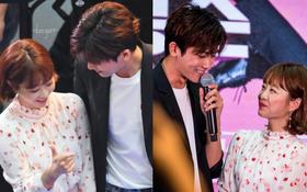 Xem cách Park Hyung Sik và Park Bo Young nhìn nhau chằm chằm là biết họ đã sớm thuộc về nửa kia!