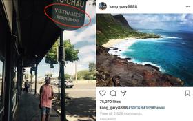 Biệt tăm suốt 1 tháng, cuối cùng Gary đã trở lại và khoe ảnh tại nhà hàng Việt Nam