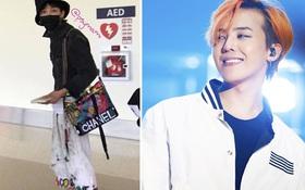 """G-Dragon như """"thiên hạ đệ nhất cái bang"""" với quần vẩy sơn, mũ tai bèo rồi lại đeo túi Chanel Gabrielle"""