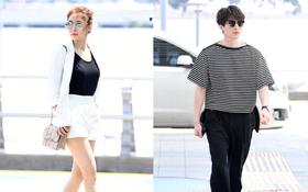 Có ai như Lee Dong Wook và Yoo In Na: Tình cờ gặp gỡ và biến sân bay thành sàn catwalk