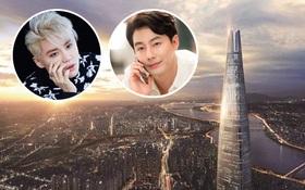 """Junsu (JYJ) """"tậu"""" căn hộ gần 140 tỉ ở đỉnh tòa tháp cao thứ 5 thế giới, làm hàng xóm của Jo In Sung"""