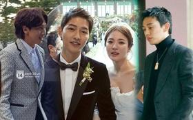 Lộ clip hiếm ghi lại toàn bộ bài phát biểu Lee Kwang Soo và Yoo Ah In gửi Song Song trong siêu đám cưới