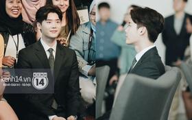 Độc quyền từ Hàn Quốc: Lee Jong Suk điển trai như hoàng tử trong lễ nhậm chức đại sứ du lịch