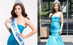 """Ngay sự kiện công bố tham dự thi Hoa hậu Thế giới 2017, HH Đỗ Mỹ Linh đã bị """"dìm dáng"""""""