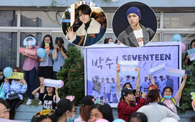 Livestream: Fan Việt xếp hàng dài tại sân bay Tân Sơn Nhất cùng banner sặc sỡ chuẩn bị đón Seventeen, Samuel