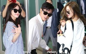 DBSK, SNSD, EXO cùng dàn trai xinh gái đẹp nhà SM đồng loạt đổ bộ, gây náo loạn sân bay