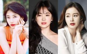 Mỹ nhân đẹp nhất Hàn Quốc: Kim Tae Hee và Song Hye Kyo dẫn đầu, gương mặt mới lấn át tượng đài