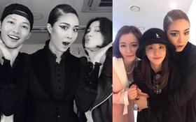 Cặp đôi vàng Song Joong Ki và Song Hye Kyo cùng loạt sao hạng A rạng rỡ đến ủng hộ nữ ca sĩ quyền lực