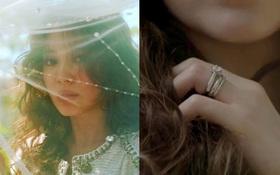 """Clip hot: """"Cô dâu tháng 10"""" Song Hye Kyo đội khăn voan cực đẹp, đeo nhẫn kim cương ngón áp út chụp hình tại Mỹ"""