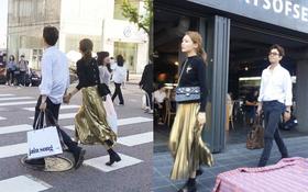 5 năm hẹn hò rồi, Sooyoung và Jung Kyung Ho vẫn đan tay cùng tung tăng dạo phố
