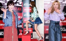 Sự kiện gây chú ý vì tập hợp màn tuột dốc nhan sắc thảm hại của loạt mỹ nhân Hàn