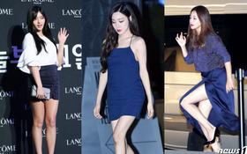 Lâu lắm fan mới thấy Tiffany sexy đến mức này, Kim Hee Sun diện váy xẻ táo bạo bên dàn mỹ nhân