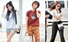 """Khi """"Mẹ Kim Tan"""" đọ sắc cùng Taeyeon và Park Shin Hye: Cắt tóc ngắn thôi là đủ đánh bại 2 đàn em"""