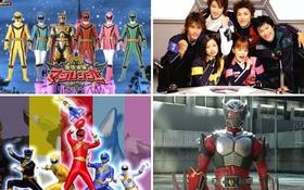 Liệu bạn có nhớ 8 đội siêu nhân Nhật Bản đình đám này?
