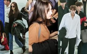 T-ara cùng dàn trai xinh gái đẹp Kpop đồng loạt đổ bộ, gây náo loạn sân bay Tân Sơn Nhất
