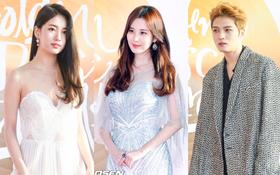 """Thảm đỏ """"Grammy Hàn Quốc"""": Suzy sexy đọ sắc nữ thần cùng Seohyun, Jaejoong cuối cùng đã trở lại"""