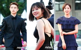 """Thảm đỏ quốc tế Bucheon: Cuối cùng Jang Nara đã chịu """"hở"""", dàn nghệ sĩ nữ nhan sắc thảm hại khoe vòng 1"""