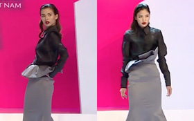 Next Top Model: Cao Thiên Trang, Chà Mi tuột áo khi bị thử thách trong phòng loại