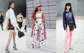 Châu Bùi, Phí Phương Anh, Jolie Nguyễn dắt nhau vào list những người mặc đẹp nhất Seoul Fashion Week của tạp chí Vogue