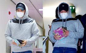Yoochun (JYJ) bịt mặt kín mít, lần đầu xuất hiện sau tin kết hôn với cháu gái chủ tịch tập đoàn