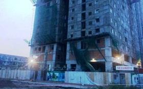 Sập giàn giáo công trình cao tầng ở Sài Gòn, 2 công nhân thương vong