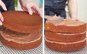 Cách làm một chiếc bánh sinh nhật chocolate hoàn chỉnh từ A đến Z