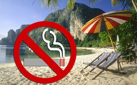Thái Lan: Ban hành lệnh cấm hút thuốc lá trên bãi biển, vi phạm phải nộp phạt gần 70 triệu