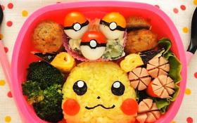 Làm bento Pikachu cho bữa cơm trưa không còn nhàm chán