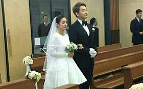 HOT: Rò rỉ hình ảnh hiếm hoi Kim Tae Hee và Bi Rain hạnh phúc thề nguyện bên trong đám cưới thế kỷ