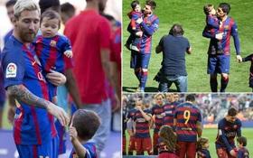 Messi đau lòng vì con trai không thích bóng đá