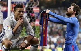 Messi khoe áo, Ronaldo chống cằm và những pha ăn mừng từng gây bão