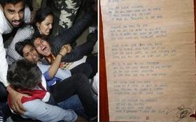 """Rùng mình bức thư bé gái """"tiên tri"""" chính xác bản thân bị hãm hiếp và giết chết"""