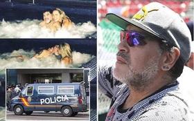 Maradona đánh người tình kém 30 tuổi ngay sau lễ tình nhân?