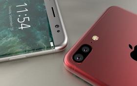 Cận cảnh vẻ đẹp mê mẩn của chiếc iPhone 8 Edge màu đỏ
