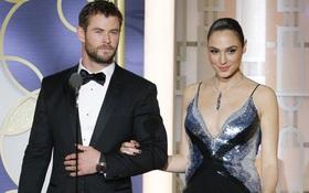 """""""Wonder Woman"""" thách """"Thor"""" đánh nhau và đây là câu trả lời của Chris Hemsworth!"""
