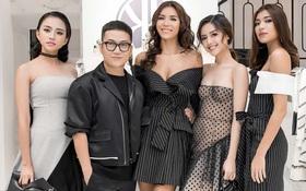 Team Minh Tú sexy hết cỡ, khuấy động sự kiện ra mắt BST mới của Chung Thanh Phong