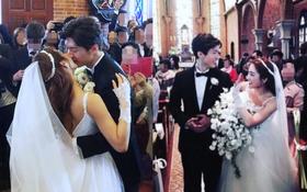 """Sau hôn lễ đẹp nhất xứ Hàn, fan """"rần rần"""" vì ngoại hình như tài tử của chú rể kém Bada 9 tuổi"""