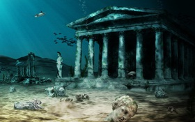Tưởng bình thường nhưng thành phố Ai Cập này đã chìm dưới đáy biển hàng ngàn năm