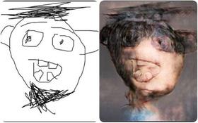 Khoa học tạo ra một phần mềm biến mọi bức chân dung bạn vẽ thành... địa ngục