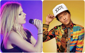 """McAfee công bố danh sách từ khoá """"Người nổi tiếng nguy hiểm nhất"""" trên Google: Avril Lavigne và Bruno Mars là hai cái tên được gọi đầu tiên"""