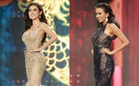 Huyền My cùng dàn thí sinh Miss Grand International 2017 rực rỡ trong trang phục dạ hội