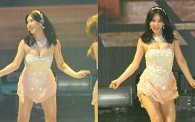 Yuri (SNSD) lại bị netizen đặc biệt chú ý với phần cơ thể khác lạ