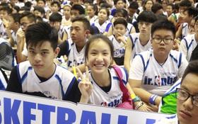 1000 em nhỏ Sài Gòn hào hứng tham gia hội trại bóng rổ