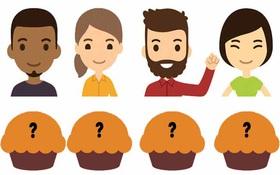 """Chỉ 1% trong 7 tỷ người mới giải được câu đố chia bánh cupcake siêu """"khoai"""""""