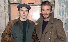 David Beckham ra mắt BST đầu tiên, Vic và con trai hân hoan đến ủng hộ ngay lập tức