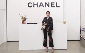 Vừa chinh phục xong Seoul Fashion Week, Phí Phương Anh quay lại Hàn để dự sự kiện của Chanel
