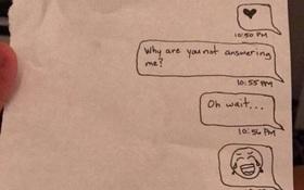 Tịch thu điện thoại của con gái, ông bố này còn troll thêm khiến cư dân mạng cười nghiêng ngả