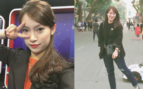 """Chưa tròn 18 tuổi, cô nàng """"bắn"""" 7 thứ tiếng Khánh Vy đã trở thành MC dẫn bản tin thời sự quốc tế"""