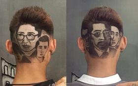 """Vi diệu ghê, 9x cắt được kiểu tóc bê nguyên dàn diễn viên """"Người phán xử"""" lên đầu!"""